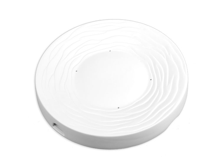 Large Radial Textured Plate