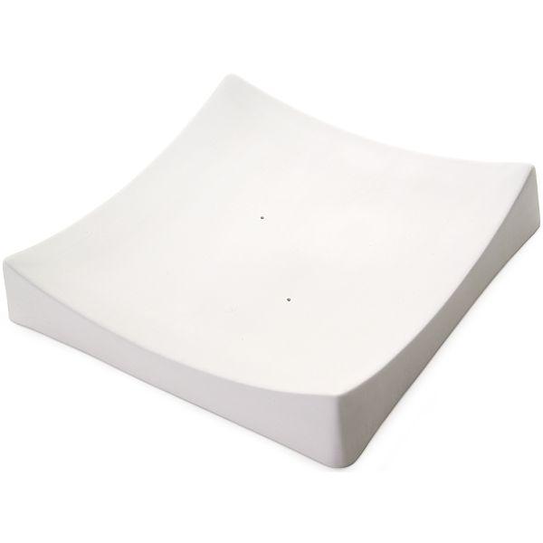 """Square Slumper Plate 10.5"""""""