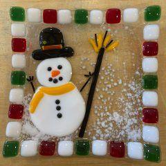 Beginner Snowman Plate